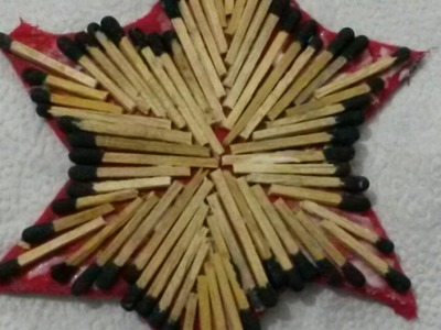 Create a Recycled Matchstick Christmas Star - DIY Home - Guidecentral