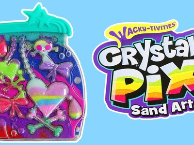 Crystal Pix Sand Art Deluxe Playset Fun & Easy DIY Sand Art by Wacky-tivities!
