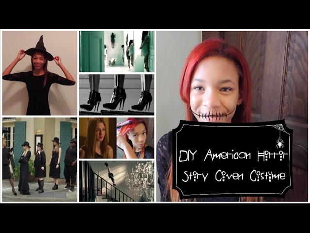 DIY AHS Coven Witch Costume + Hair and Makeup