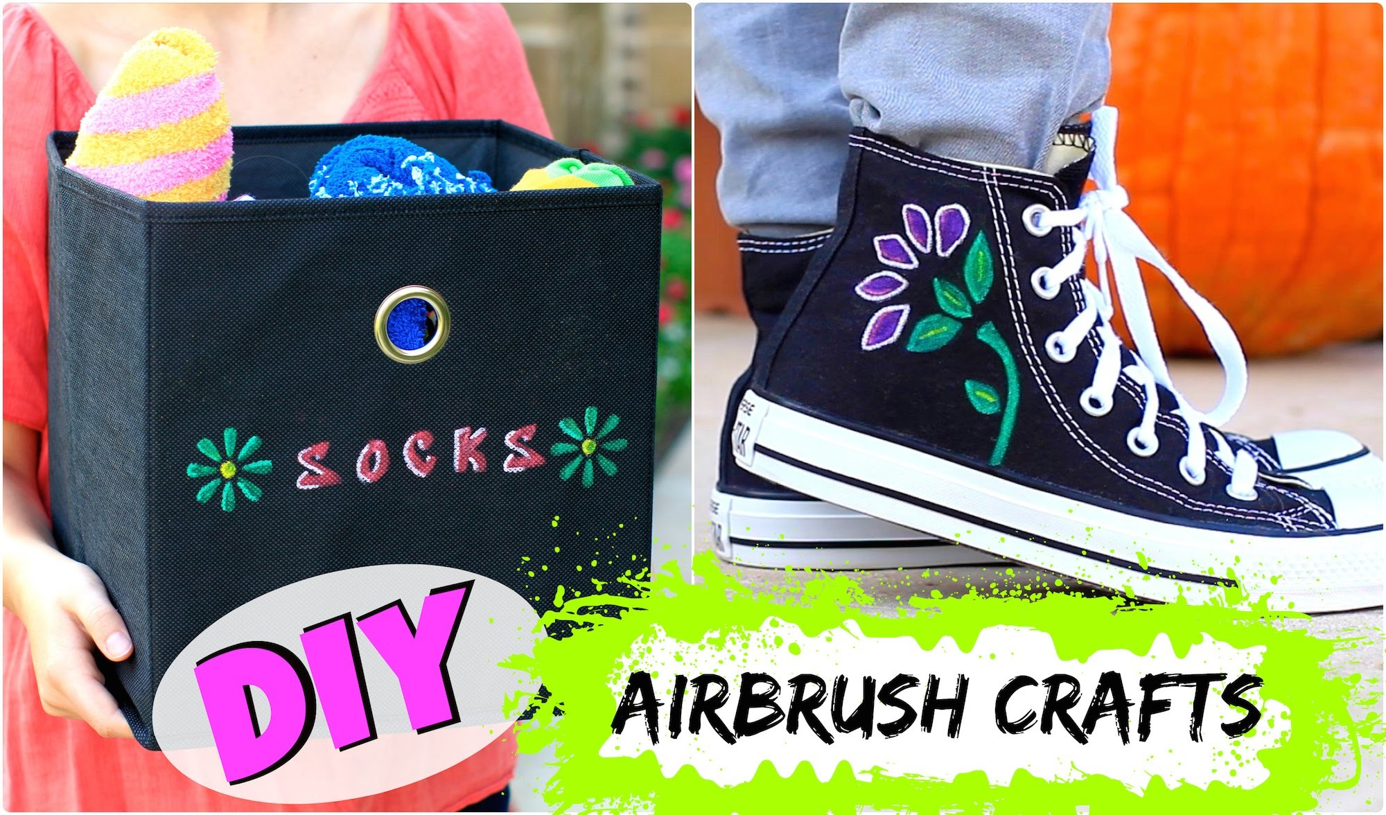 DIY Airbrush Crafts | Brooklyn and Bailey