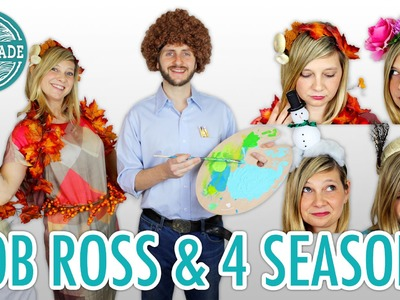 DIY Bob Ross Halloween Costume + The Four Seasons - HGTV Handmade