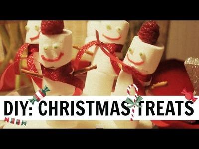 ❄ DIY: CHRISTMAS TREATS ❄