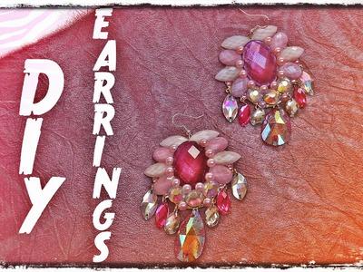 DIY EARRINGS. MINDJUSE RUCNI RAD