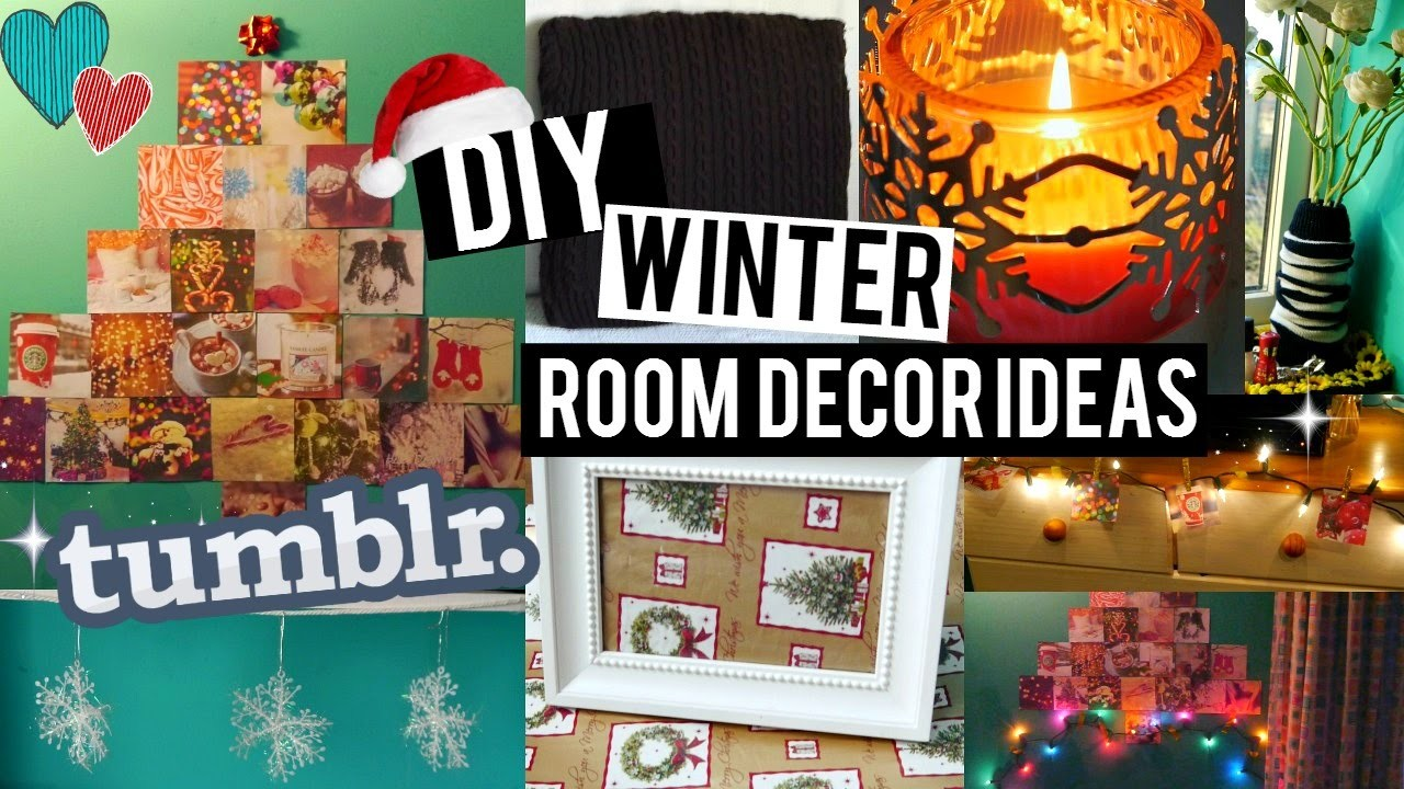 Remarkable Diy Easy Winter Holiday Room Decor Ideas Ways To Decorate Download Free Architecture Designs Scobabritishbridgeorg