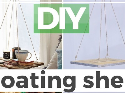 DIY | FLOATING SHELF inspired by Urban Outfitters