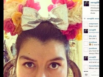DIY: Flower Ears