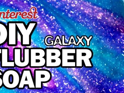 DIY Galaxy Flubber Soap - Man Vs Pin - Pinterest Test #72