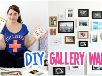 DIY Gallery Wall! - Easy & Inexpensive Wall Art | HannaCreative