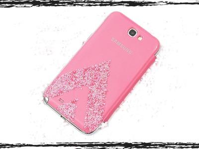 DIY Glitter Phone Cover video