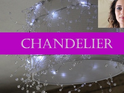 DIY Home Improvements. Part 2. How to make a chandelier.