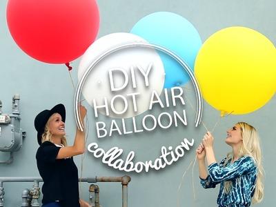 DIY Hot Air Balloon [Aspyn Floats!]