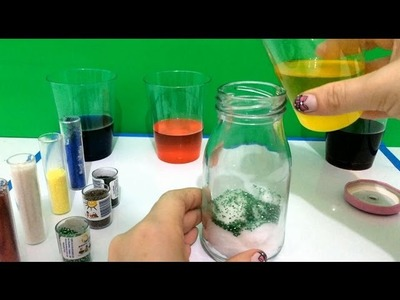 DIY:: How To Make 'Glitter IN A SMALL BOTTLE' DIY Toys