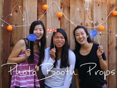 DIY | How to Make Photo Booth Props | rachel republic