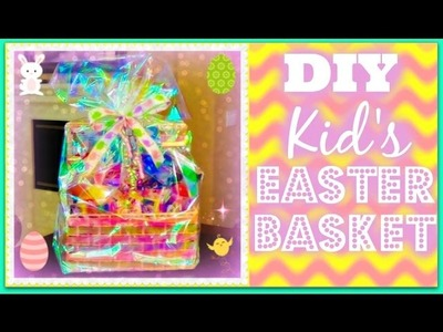 DIY Kid's Easter Basket - Start to Finish