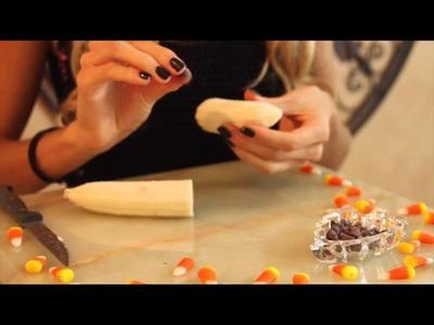 DIY No Bake Healthy Halloween Treats