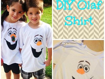DIY Olaf shirt (Vlogust day 4)