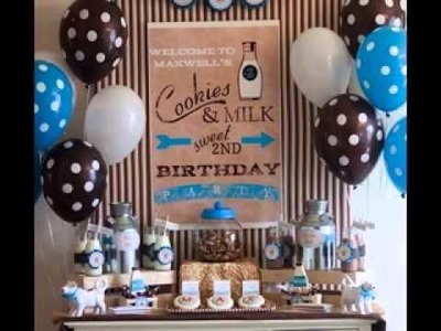 DIY One year old birthday party ideas