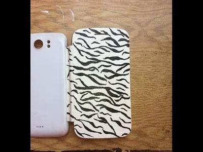 DIY Phone Case: Tiger.Animal Design