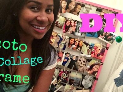 DIY Photo Collage Frame!