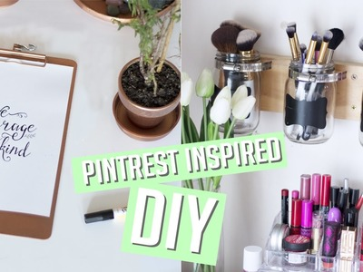 DIY Room Decor + Organisation - Pintrest Inspired