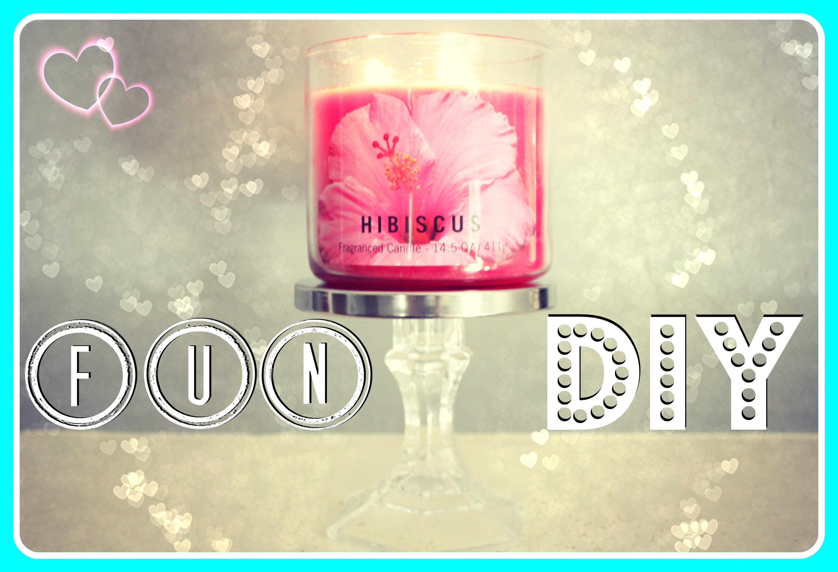 DIY - Simple Candle Holder