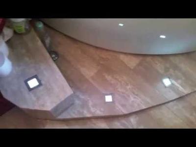 DIY Small Bathroom Idea Rustic Inspired Design