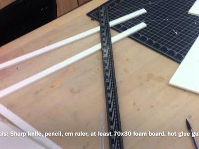 DIY- Tatsumi's Incursio Sword: Measurments And Base