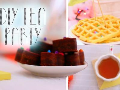 Diy Tea Party - Decor + Snacks