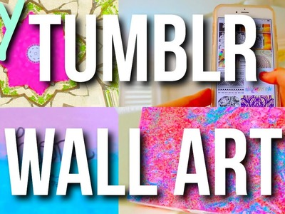 DIY Tumblr Wall Art