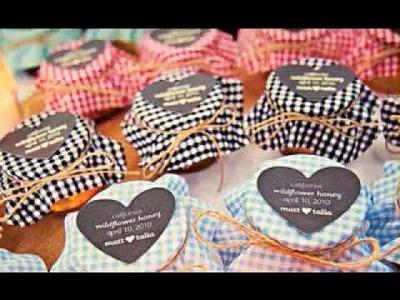 DIY Wedding souvenir decoration ideas