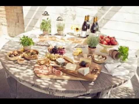 DIY Wine and cheese party decorating ideas