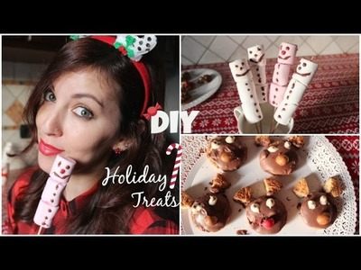 Easy DIY Holiday Treats Recipes ☃24 Girls of Christmas