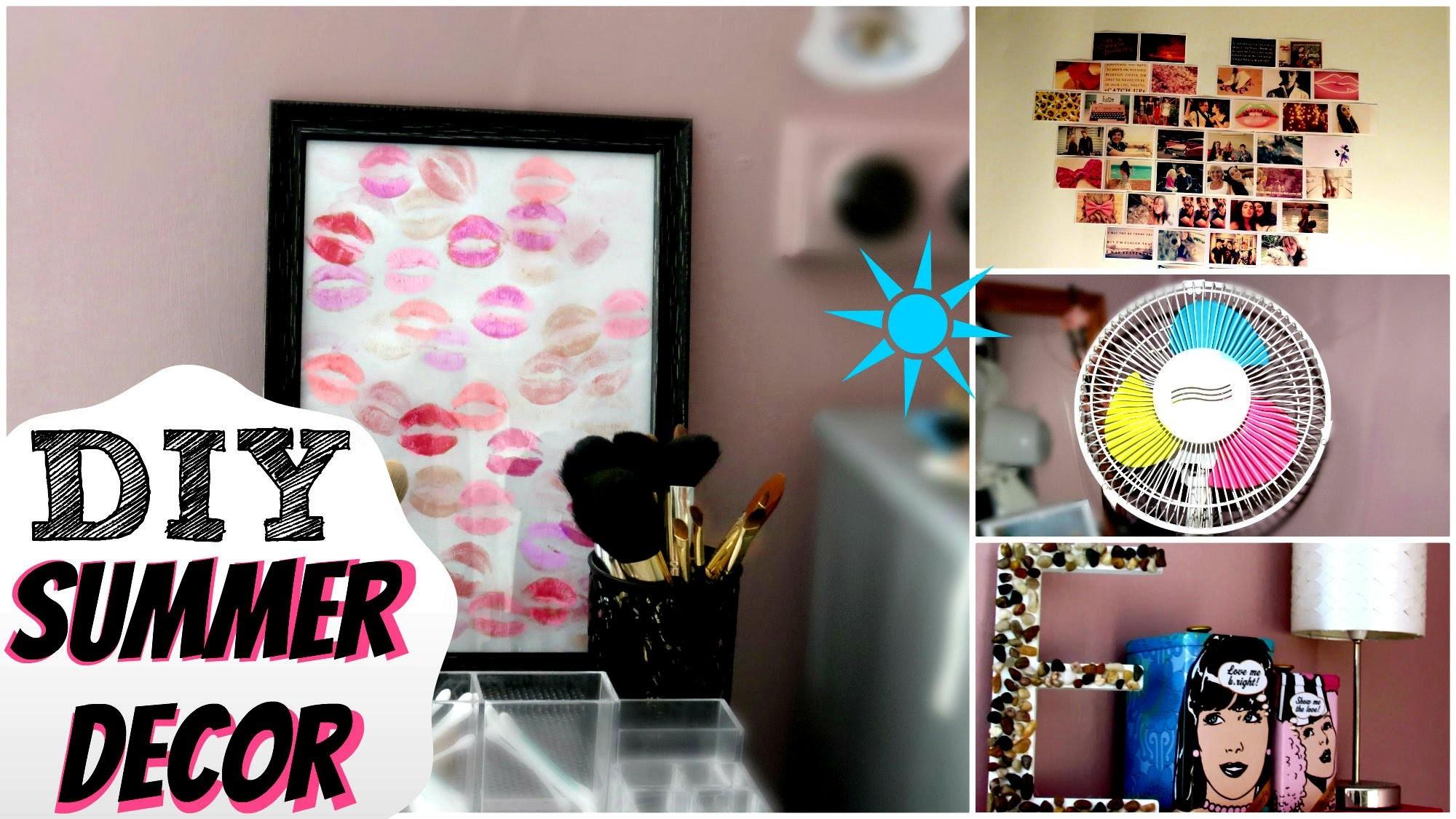 Easy DIY Summer Room Decor!