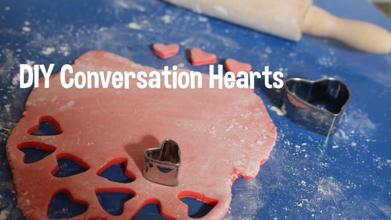 Fun Activity w.your kids! DIY Conversation Hearts! Valentines Day