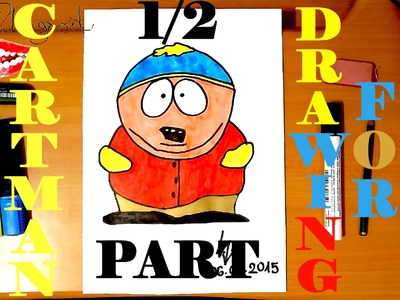 How To Draw ERIC CARTMAN From SOUTH PARK Characters Step By