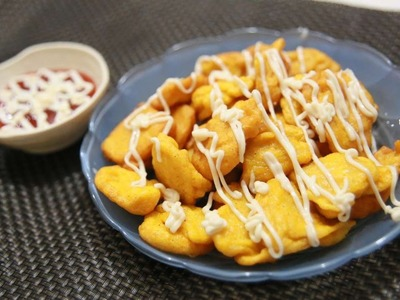 How To Make An Easy Deep Fried Squash Nuggets - DIY Food & Drinks Tutorial - Guidecentral