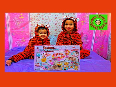 Kids Balloons and Toys DIY Fruitcake Happy Interaction DIY Play Game Set for Happy Children