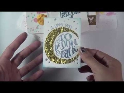 Project life Tips and Trick: DIY Mixed Media Cards & letterpressing