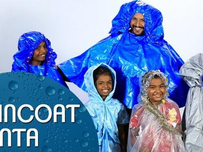 Raincoat Santa - DIY Raincoats for Underprivileged Kids