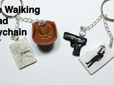 The Walking Dead Season 5 Keychains DIY
