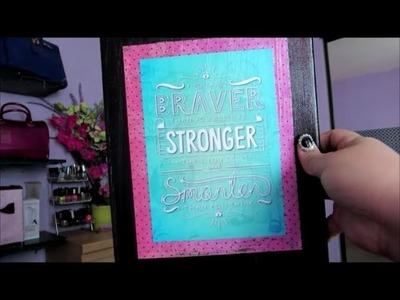 VLOG: Cute DIY gift + Im back to vlogging !