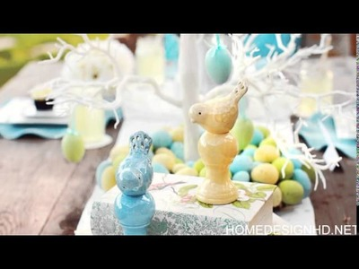 28 Easy DIY Tablescapes for Easter part 2