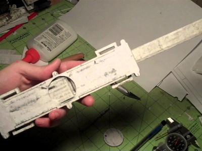 (Assassin's Creed) Paper Full size Dual-Action Hidden Blade (TOP COVER FITS!) Update 10