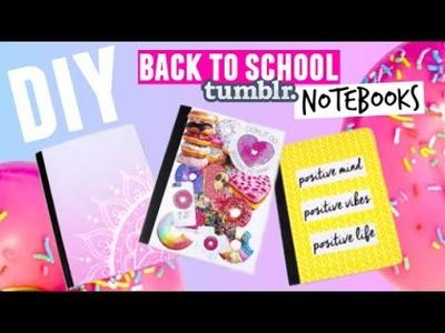 BACK TO SCHOOL: DIY Tumblr Notebooks!