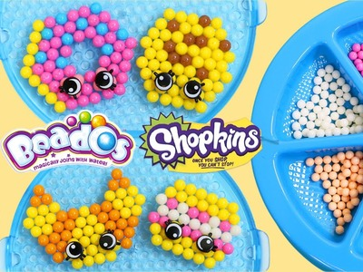 Beados Shopkins Tastee Bakery Activity Pack | Easy DIY Make Your Own Magic Beads Shopkins Shapes!