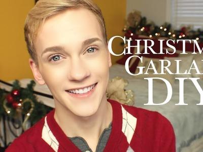 Christmas Garland DIY :: JonathanCurtisOnYT