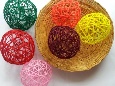 Create Decorative Yarn Balls - DIY Home - Guidecentral