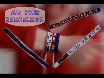 DIY Au Pair Bracelet | English | Au Pair Vlog #5