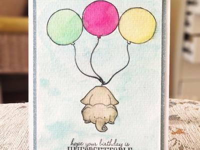 DIY Birthday Card: Unforgettable Stamp from Wplus9