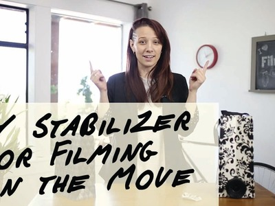 DIY Camera Stabilizer Perfect for Filming Moving Objects